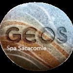 Logo rond du GEOS SPA hôtel sacacomie
